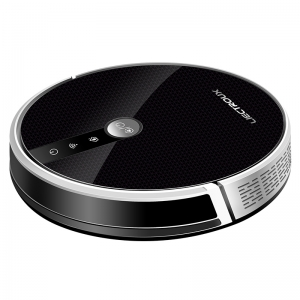 LIECTROUX Robot Vacuum Cleaner , 3000Pa Suction,2D Map Navigation,with Memory,WiFi App,Electric Water Tank,Brushless Motor C30B